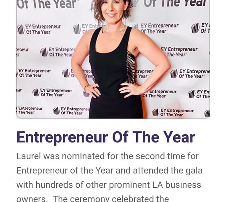 Entrepreneur of the year!